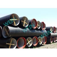 China Large Diameter Ductile Iron Pipe Cement Lined Zinc Coating For Water Lines on sale