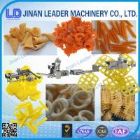 Quality Small scale screw shell chips 3D pellet extruding and frying process line wholesale