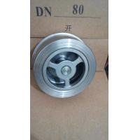 Quality Stainless Steel Single Plate Wafer Check Valves, PN16 Lift Check Valves wholesale