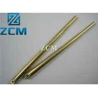 China ISO9001 2008 200mm Height Brass CNC Machining on sale