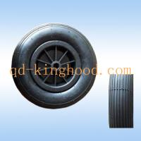 China Pneumatic tires wheels plastic rim on sale