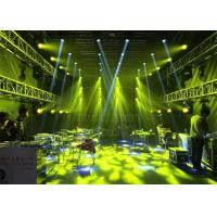 China Staging Display Folding Aluminum Stage Truss 600 x 1200mm Fireproof Recycle on sale