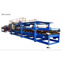 Quality 30KW Rockwool Sandwich Panel Machine Composite Wall Board Moulding Roof Panel Production wholesale