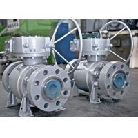 Buy cheap API 6D 3-PC Trunnion Mounted Ball Valve Durable WCB A105 CF8 F304 from wholesalers