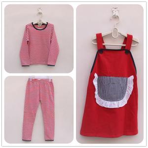 China free sample!hot sale korean fashion wholesale summer teen girl clothing set garment importers on sale