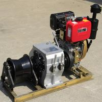 Quality Small / Big Model Marine Winch Durable With 600KN~4500KN Drum Brake Load wholesale