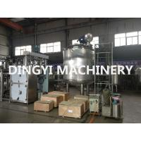 Quality PLC Control Jacketed Stainless Steel Mixing Tanks 380V 220V For Food / Chemical wholesale