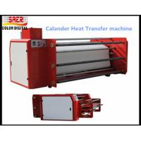 China Oil Heating Textile Sublimation Printing Machine Adjustable Thermostat High Accuracy on sale