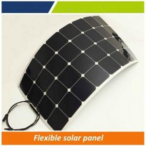 Quality Flexible solar panel 100w / high efficiency 30 degree bendable solar panel / leight weight flexible solar panel price wholesale