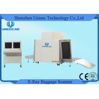 Quality 24bit Xray Public Place Security Airport Baggage Scanner With Tunnel Size 1000*1000mm wholesale