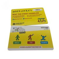Quality Classic 1k  RFID Smart Card For Access Control 13.56 Mhz Rfid Tag wholesale