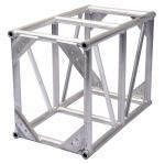 Quality Lightweight Truss Construction Silver Color Square Bolt Concert Lighting Truss wholesale