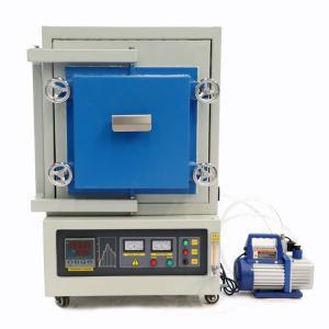 China 12L 1200C Lab Vacuum Atmosphere Furnace Ceramic Fiber Board Thermal Insulation on sale