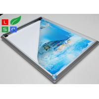 Quality High Brightness LED Snap Frame Light Box Low Heat Wall Mounted For Coffee Bar wholesale