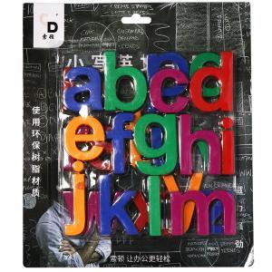 Quality Eductional Kids Learning Magnets 26 Pieces Lower Case Letters Unique Design wholesale