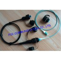 Quality Durable 8 cores OM3 10G Fiber Optic Patch Cord For FTTA , chemical resistance wholesale