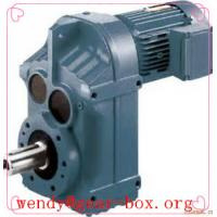 Quality F series parallel-shaft helical gear reducer with solid shaft wholesale