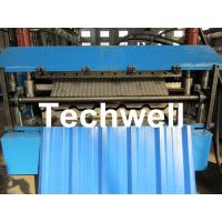 Quality Manual / Automatical Type Double Roof Roll Forming Machine For Metal Roofing, Sheet Roof wholesale