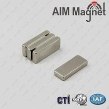 Quality 25x10x5mm Size Power Permanent Block Magnet wholesale