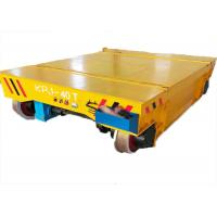 Quality Heavy load industrial motorized battery -driven railway transfer cart wholesale