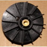 Quality Black PA66 Injection Moulded Plastic Parts Motor / Pump Fan Blades wholesale