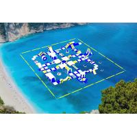 Cheap Giant Inflatable Water Park Equipment / Inflatable Sea Water Park For Adults And for sale