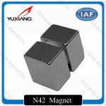 Quality Ni-Cu-Ni Neodymium Block Magnets 50x50x50mm High Coercive Force Over 35KOe wholesale