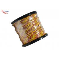 Quality Type K/J/T/S/B/R Thermocouple Cable Wire PVC / Fiberglass Insulated Cable wholesale