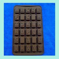 Quality letter shape silicone butter molds , round shape silicone cookie molds wholesale