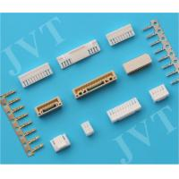 Quality AWG# 26-30 Circuit Board Pin Connectors 1.25mm Pitch with 10MΩ Max Contact Resistance wholesale