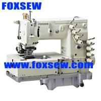 China 4-needle flat-bed double chain-stitch machine for waistband FX1508PR on sale