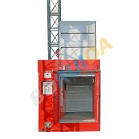 Quality 3200kg Blue Twin Cage Industrial Lift with Hot Dipped Zinc , High Reliability wholesale