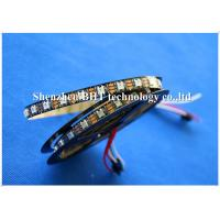 Quality DC12V Addressable Rgb Led Strip , Led Rgb Tape Light 5050 SMD 3 Led External IC Ws2811 wholesale