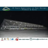 Buy cheap double roof transparent outdoor warehouse tent for food storage product
