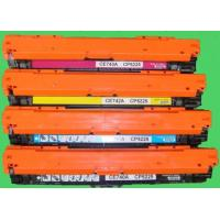 Quality CE740A 741A 742A 743A For HP Color Toner Cartridge Used For HP CP5220 5225 wholesale