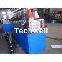 Quality Steel Stud and Track Cold Roll Forming Machine for Light Weight Steel Truss / Furring Channel wholesale