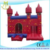 China Hansel buy inflatable slide trampoline,inflatable bouncer big,inflatable games for sale on sale