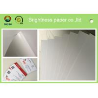 China Grade AA C2s Glossy Poster Paper , Glossy Brochure Paper For Inkjet Printers on sale