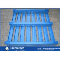 "Quality 40"" X 48"" Warehouse Steel Pallet Stackable Metal Pallet Heavy Duty Load With Side wholesale"