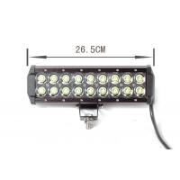 Quality black 54Watt Automotive Led Light Bar Led Offroad Work Lights For cars wholesale