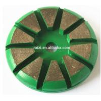 Quality Diamond Grinding Plate With Smooth Scratch Pattern For Stone Concrete wholesale