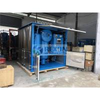 Quality Weather Proof Type Three-stage Filter Insulating Oil Purifier System 9000Liters/Hour wholesale