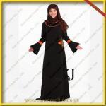 Quality 2012 New Style Islamic Clothing Abaya for Women  KJF006 wholesale