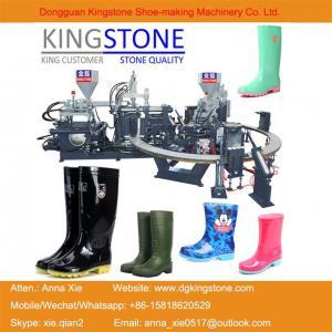 Buy cheap Kingstone Machinery Manufacturer Rotary Gumboots Rain Boot Making Machine from wholesalers