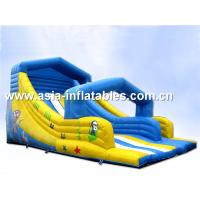 China Inflatable Water Slide For Swimming Pool Games In Summer on sale