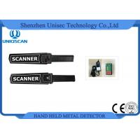 Quality Uniqscan Hand Held Metal Detector / Metal Wand Detector For Airport ISO Approved wholesale