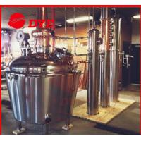 Quality 200 Gallon Home Moonshine Distillation Equipment 3mm Thickness CE wholesale