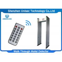 Quality High Sensitivity Walk Through Metal Detector 33 / 45 Zones With Network Function wholesale