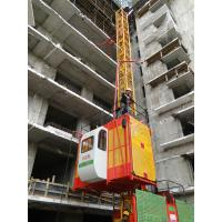Quality 1 Ton SS100/100 Frequency Conversion Vertical Automatic Rack and Pinion Elevator 23.5m/min wholesale