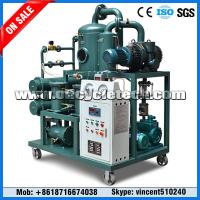 Quality Waste Transformer Oil Filtration Machine, Transformer Oil Recycling Plant wholesale